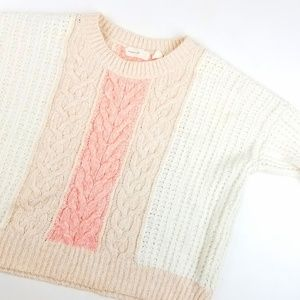 Anthropolgie Sleeping on Snow Knitted Sweater
